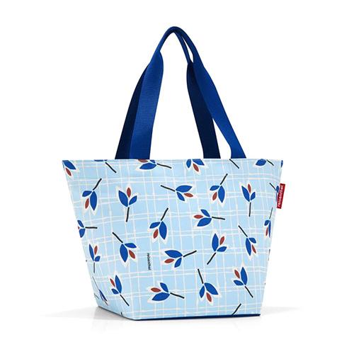 Nákupní taška Reisenthel Modré listy | shopper M
