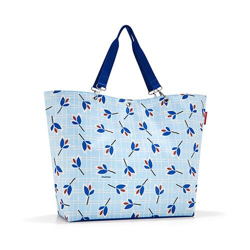 Nákupní taška Reisenthel Modré listy | shopper XL