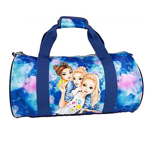 Sportovní taška Top Model Fergie, Christy a Candy, modrý