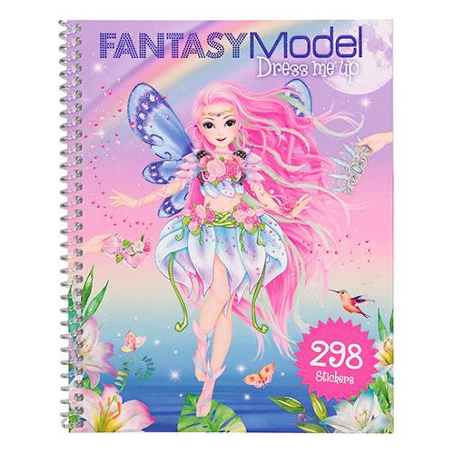 Kreativní sešit Fantasy Model Obleč mě, 298 samolepek