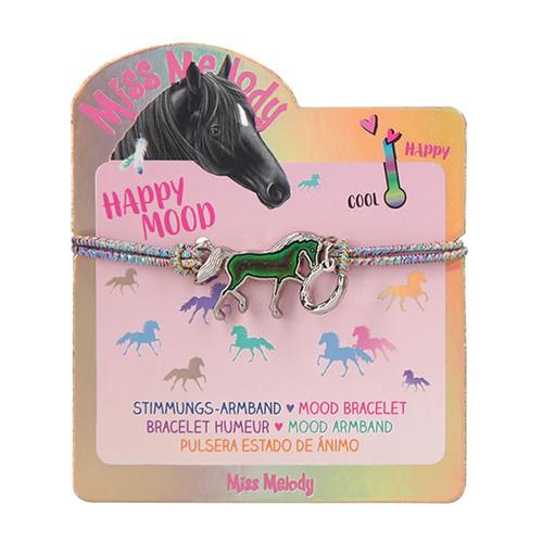 Náramek Miss Melody ASST Duhový s magickým koníkem
