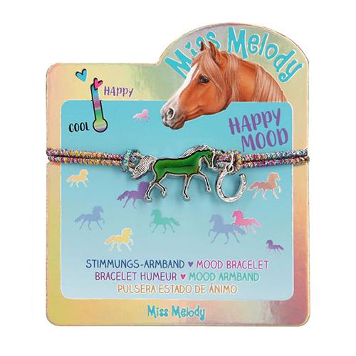 Náramek Miss Melody ASST Barevný s magickým koníkem