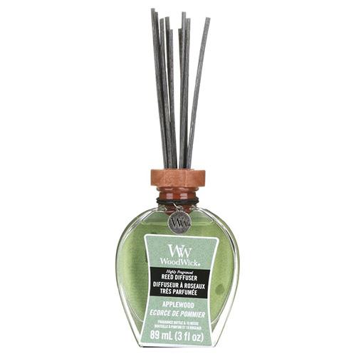 Aroma difuzér WoodWick Jabloňové dřevo, 89 ml
