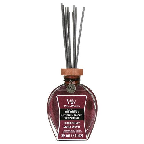 Aroma difuzér WoodWick Černá třešeň, 89 ml