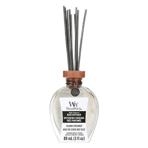 Aroma difuzér WoodWick Kokosový ostrov, 89 ml