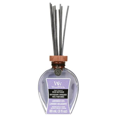 Aroma difuzér WoodWick Levandulová lázeň, 89 ml