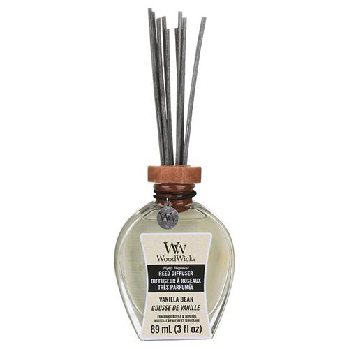 Aroma difuzér WoodWick Vanilka, 89 ml