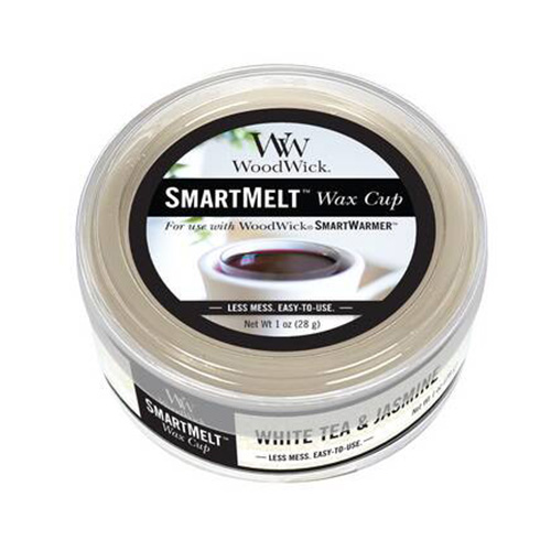Vonný vosk WoodWick Bílý čaj a jasmín, 28 g