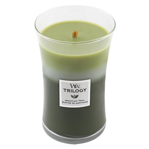 Svíčka Trilogy WoodWick Horská stezka, 609.5 g