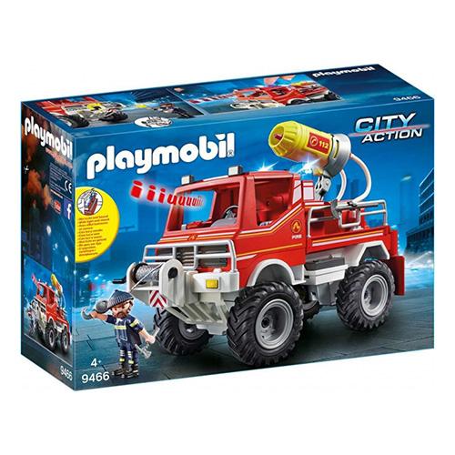 Hasičské auto Truck Playmobil Hasiči, 56 dílků