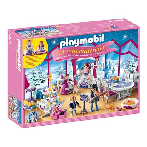 Adventní kalendář Playmobil Křišťálový palác, 93 dílků