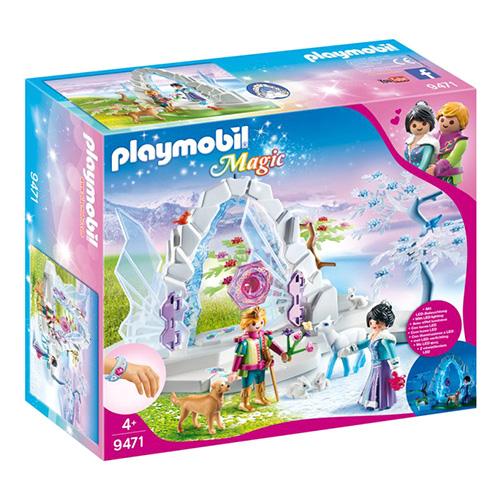 Křišťálová brána do zimního světa Playmobil Křišťálový palác, 73 dílků