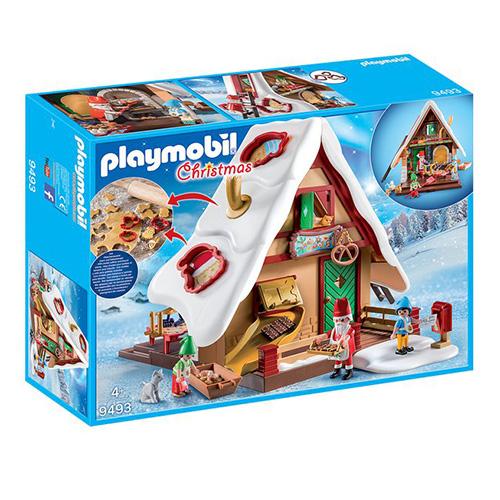 Vánoční pekárna s formičkami na pečení Playmobil Vánoce, 128 dílků