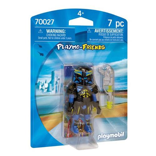 Vesmírný agent Playmobil TOP agenti, 7 dílků