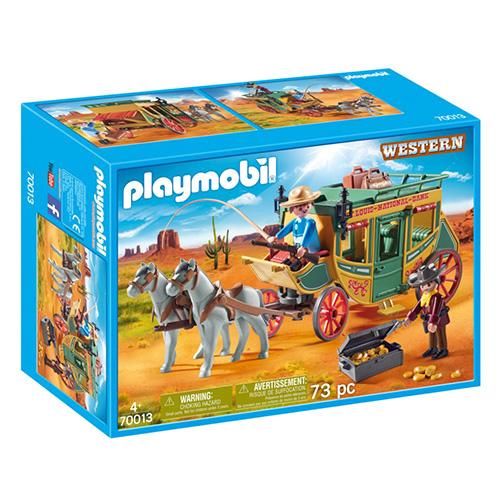 Westernový kočár Playmobil Western, 73 dílků