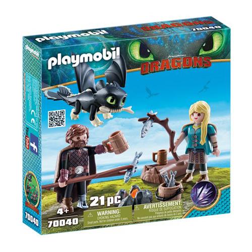 Škyťák a Astrid Playmobil Jak vycvičit draka, 21 dílků