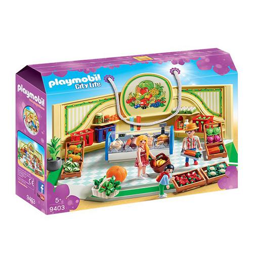 Obchod s potravinami Playmobil Obchodní centrum, 113 dílků