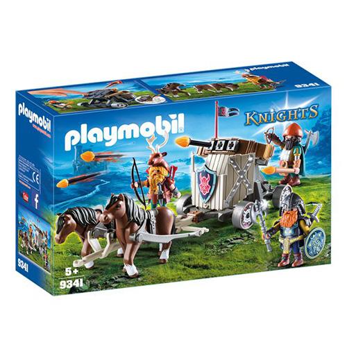 Balista pro trpaslíky tažená poníky Playmobil Dračí rytíři, 61 dílků