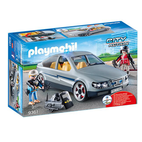 Vozidlo speciální jednotky Playmobil Policie, 43 dílků