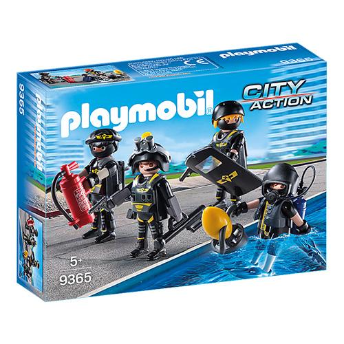 Speciální jednotka Playmobil Policie, 38 dílků
