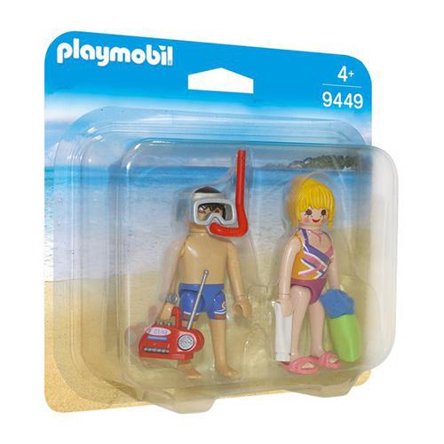 Duo Pack Dvojice na pláži Playmobil Prázdniny, 12 dílků