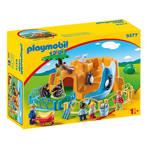 Zoo Playmobil 1.2.3, 22 dílků