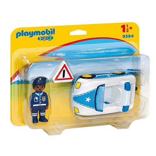 Policejní auto Playmobil 1.2.3, 3 ks