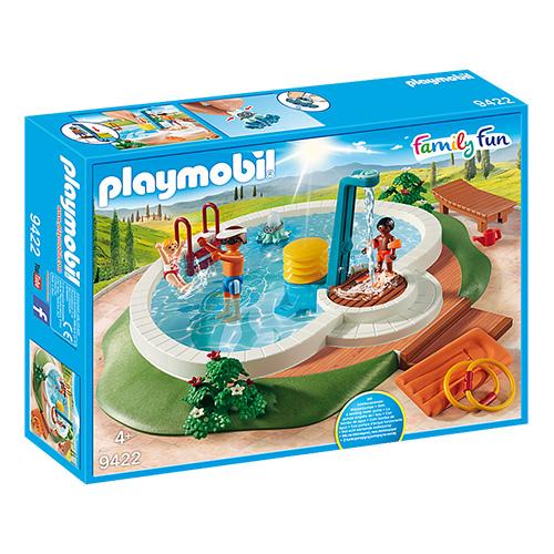 Bazén se sprchou Playmobil Prázdniny, 61 dílků