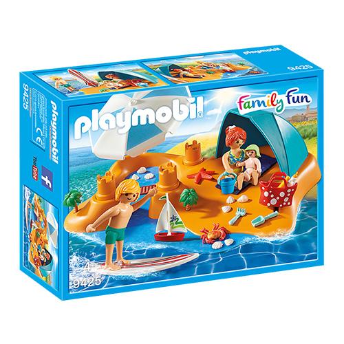 Rodina na pláži Playmobil Prázdniny, 37 dílků