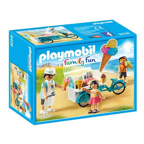 Zmrzlinářský vozík Playmobil Prázdniny, 25 dílků