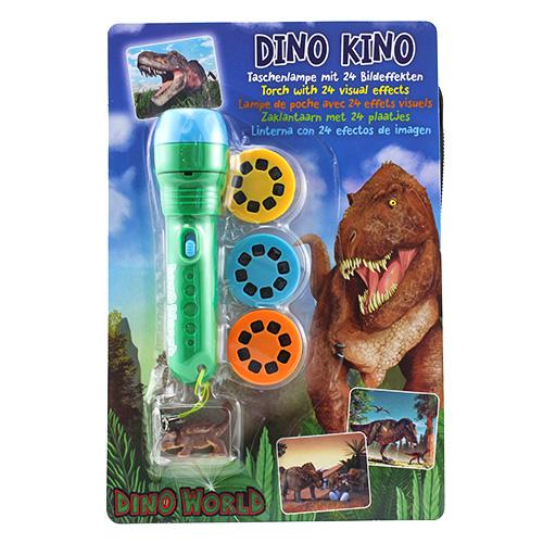 Projekční svítilna Dino World ASST Zelená s přívěskem, 24 obrázků