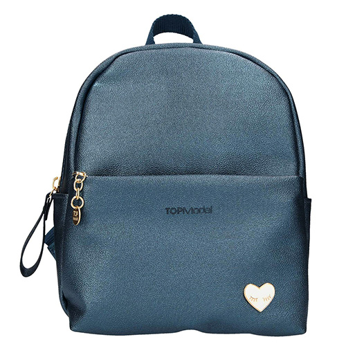 Mini batůžek Top Model Tmavě modrý