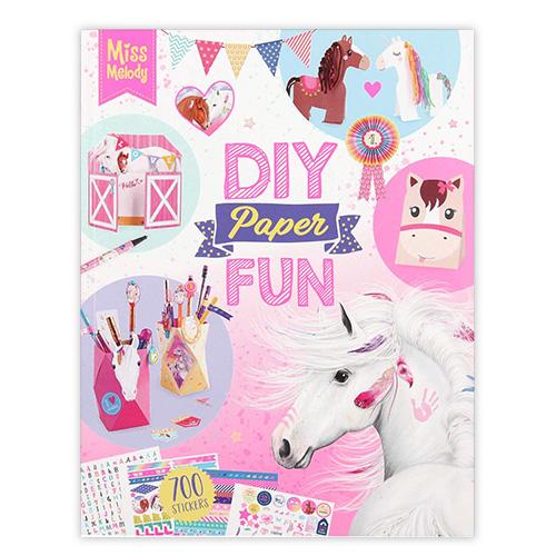 Kreativní kniha Miss Melody Paper Fun