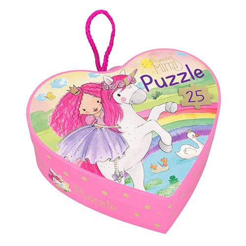 Puzzle Princess Mimi Princezna a jednorožec, 25 dílků