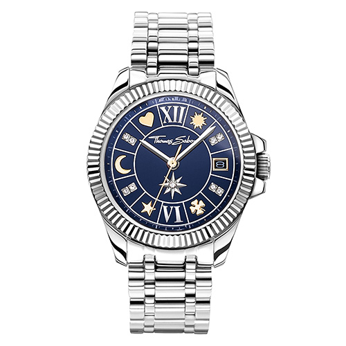Dámské hodinky Thomas Sabo WA0354-201-209-33 mm, Watches, stainless steel, mineral glas