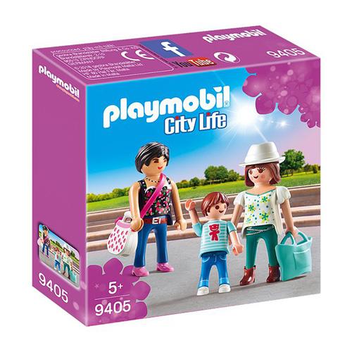 Dívky na nákupu Playmobil Obchodní centrum, 6 dílků