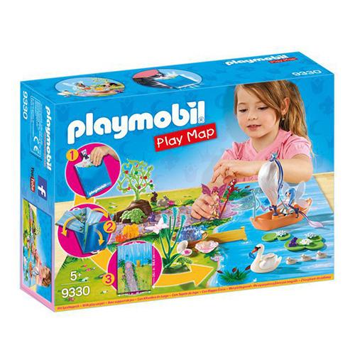 Herní mapa Vílí zahrada Playmobil Víly a jednorožci, 50 dílků