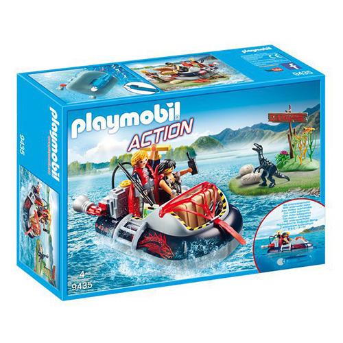 Vznášedlo s podvodním motorem Playmobil Dinosauři, 40 dílků