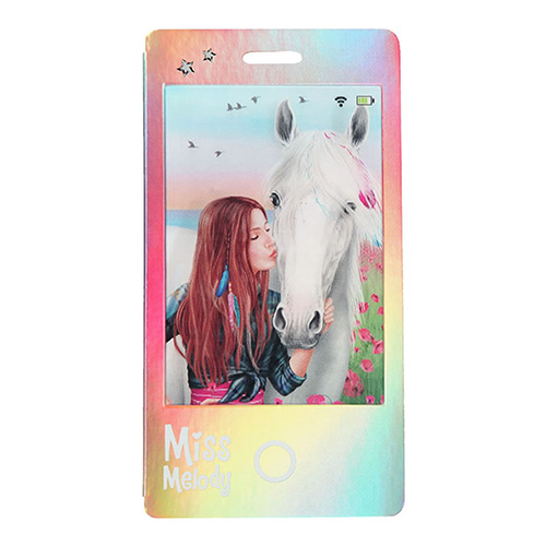 Zápisník Miss Melody ASST Duhový