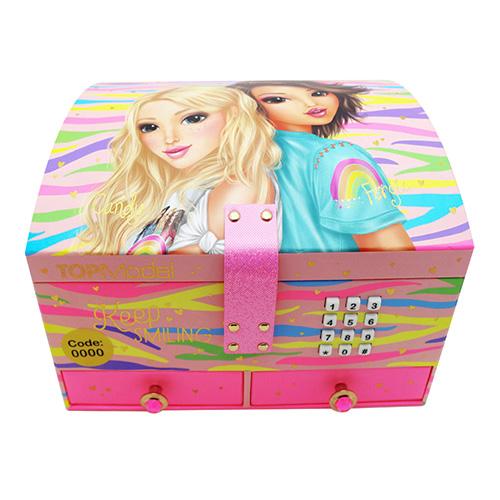 Šperkovnice Top Model Candy a Fergie, duhová