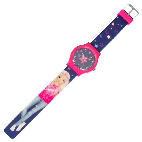 Hodinky Top Model ASST Candy, silikonový pásek, růžové