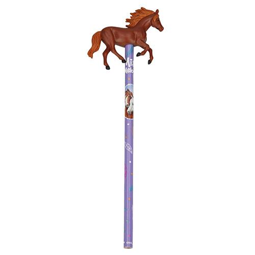 Tužka Miss Melody ASST Hnědý kůň, fialová