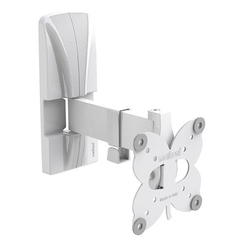 """Nástěnný držák Meliconi SlimStyle Plus 100 SR Bianco, pro LED TV (14"""" až 25"""") do 20"""