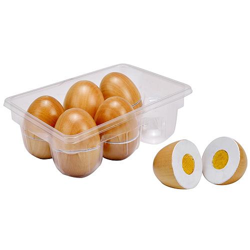 Dřevěná skládačka Idena vajíčka, 13ks