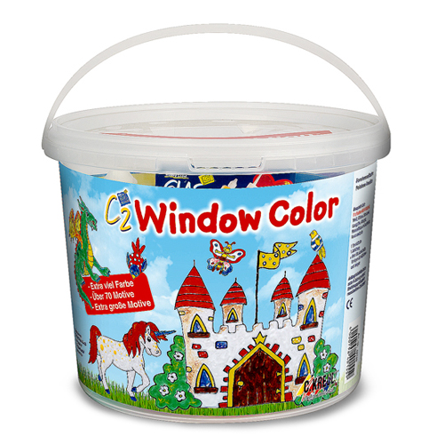 Set malování na okno C.Kreul sada obsahuje šablony a barvy
