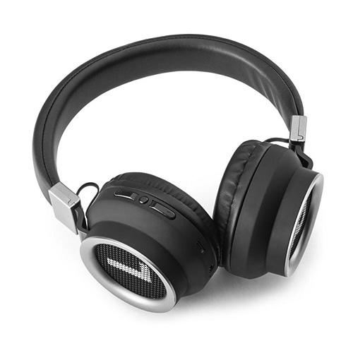 Bezdrátová sluchátka Meliconi MySound Speak Right, BT 5.0, černo-stříbrná
