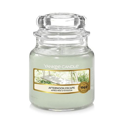 Svíčka ve skleněné dóze Yankee Candle Odpolední únik, 104 g