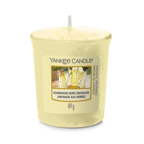 Svíčka Yankee Candle Domácí bylinková limonáda, 49 g