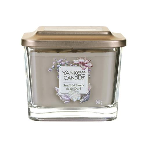 Svíčka ve skleněné váze Yankee Candle Sluneční písky, 347 g