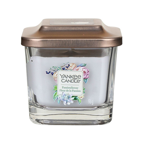 Svíčka ve skleněné váze Yankee Candle Květ vášně, 96 g